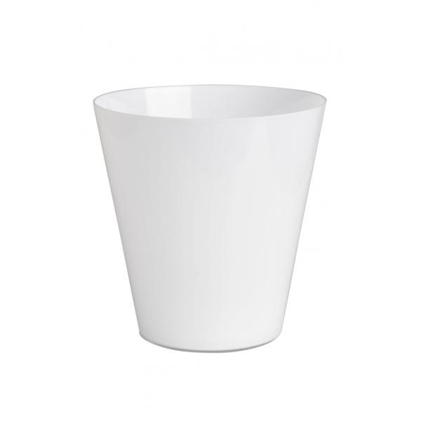 vase en verre blanc d co d co etc. Black Bedroom Furniture Sets. Home Design Ideas