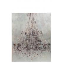 Un beau lustre antique à accrocher au mur