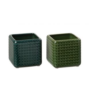 Un cache-pot carré pour vos plantes
