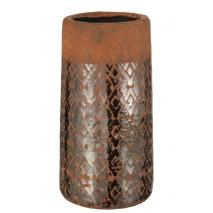 Vase à décoration mosaïque