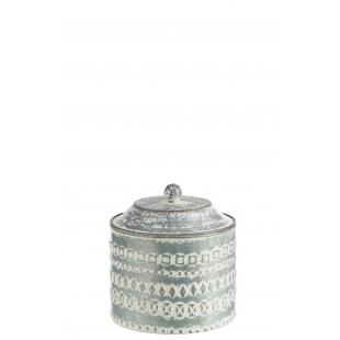 Pot rond en métal