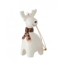 Un renne en céramique à suspendre