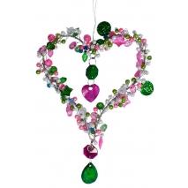 Petit coeur de perles