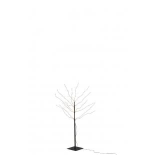 Un arbre orné de led