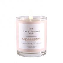 Bougie Végétale Parfumée Pamplemousse rose