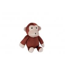 Un singe cale_porte