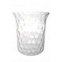 Photophore et vase en verre