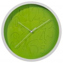 Horlonge ronde verte et blanche