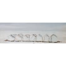 Tableau Cabines de plage