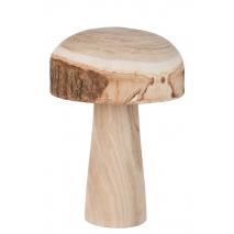 Un gros champignon d'un bois très nature